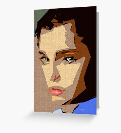 Female Expressions XLVIII Greeting Card