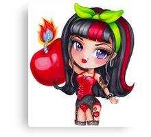 Cherry Bomb Sizzle Canvas Print