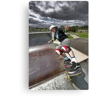 Rock to Fakie Canvas Print