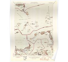 Massachusetts  USGS Historical Topo Map MA Hull 351806 1946 31680 Poster