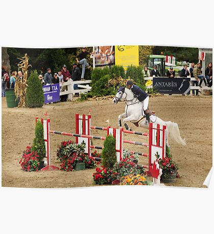 The Canadian  Show Jumping tournament Poster