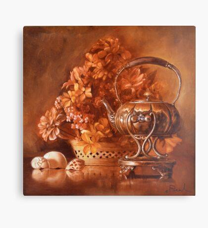 Elegant Teapot Canvas Print