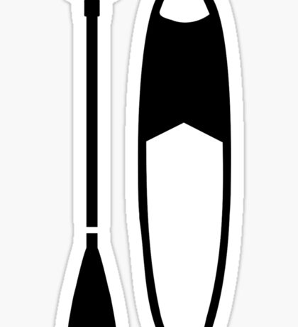 Stand up paddling Sticker