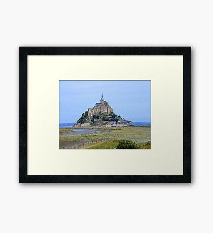 Mont-Saint-Michel, France... Framed Print