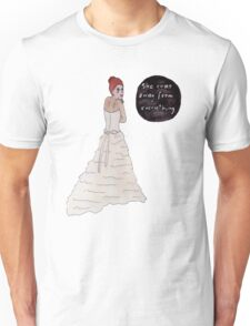 She runs away from everything Unisex T-Shirt