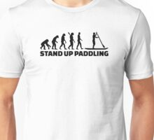 Evolution Stand up paddling Unisex T-Shirt