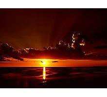 Keaton Beach Sundown Photographic Print