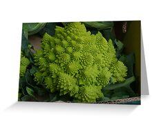 Weird Lettuce Greeting Card
