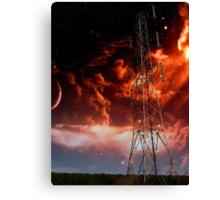 Pylon Doom Canvas Print