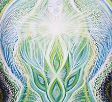 """ Angel Opening Heart Chakra"" by Hayley Mawson Roberts"
