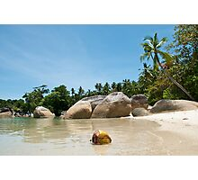 Washed Ashore at Belitung (2/2) Photographic Print