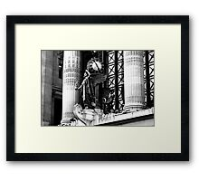 The clock Tower Framed Print
