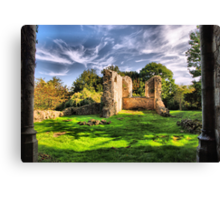 The Ruins Canvas Print