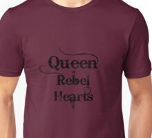 Queen of Rebel Hearts Unisex T-Shirt