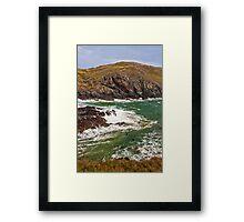 Kynance Cove at High Tide Framed Print
