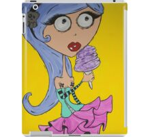 Cotton Candy Girl iPad Case/Skin