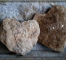 Stone hearts by Dulcina