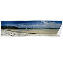 Peel Island Panorama Poster