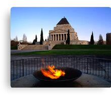 Shrine Of Rememberance - Melbourne Canvas Print