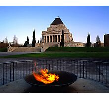 Shrine Of Rememberance - Melbourne Photographic Print