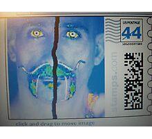 Post stamp Photographic Print