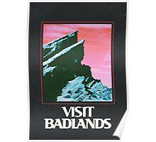 Halsey- VISIT BADLANDS Poster