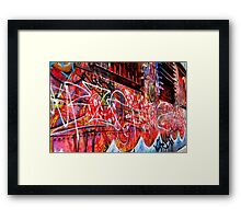 street art | melbourne Framed Print
