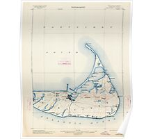 Massachusetts  USGS Historical Topo Map MA Nantucket 352875 1901 62500 Poster