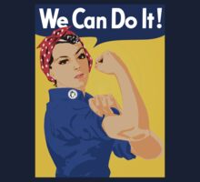 We can do it! Baby Tee