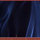 Smoky Blues Ruffles by Richard G Witham