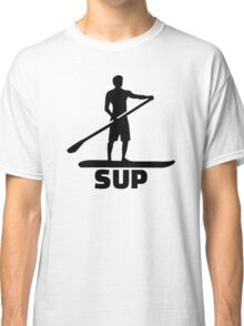 Stand up paddling Classic T-Shirt