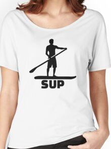 Stand up paddling Women's Relaxed Fit T-Shirt