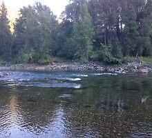 A Riverside Evening by Saiyn