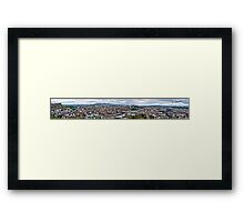 Edinburgh (HDR Panorama view) Framed Print