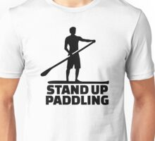 Stand up paddling Unisex T-Shirt