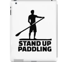 Stand up paddling iPad Case/Skin