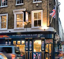 The Great British Fish and Chip Shop by Karen Martin