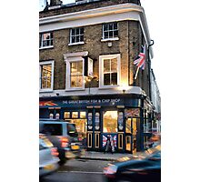 The Great British Fish and Chip Shop Photographic Print