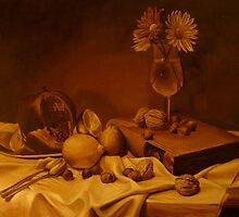 Still life / imprimatura layer by Zoran Kudra
