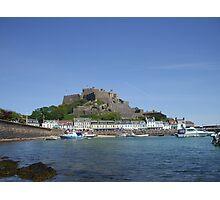 Jerseys' Gorey Castle Photographic Print
