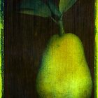 Photo Acrylic Pear 12 by Cara Schingeck