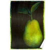 Photo Acrylic Pear 12 Poster