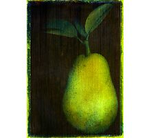 Photo Acrylic Pear 12 Photographic Print