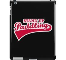 Stand up paddling iPad Case/Skin