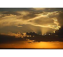Brilliant Sky over ABQ Photographic Print