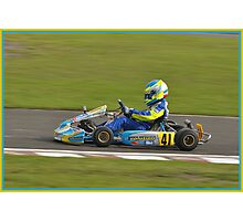 super 1 karting Photographic Print