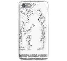 Alien Robot Discipline iPhone Case/Skin