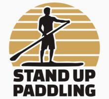 Stand up paddling by Designzz