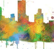 Fort Worth, Texas Skyline Sticker