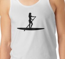 Stand up paddling Tank Top